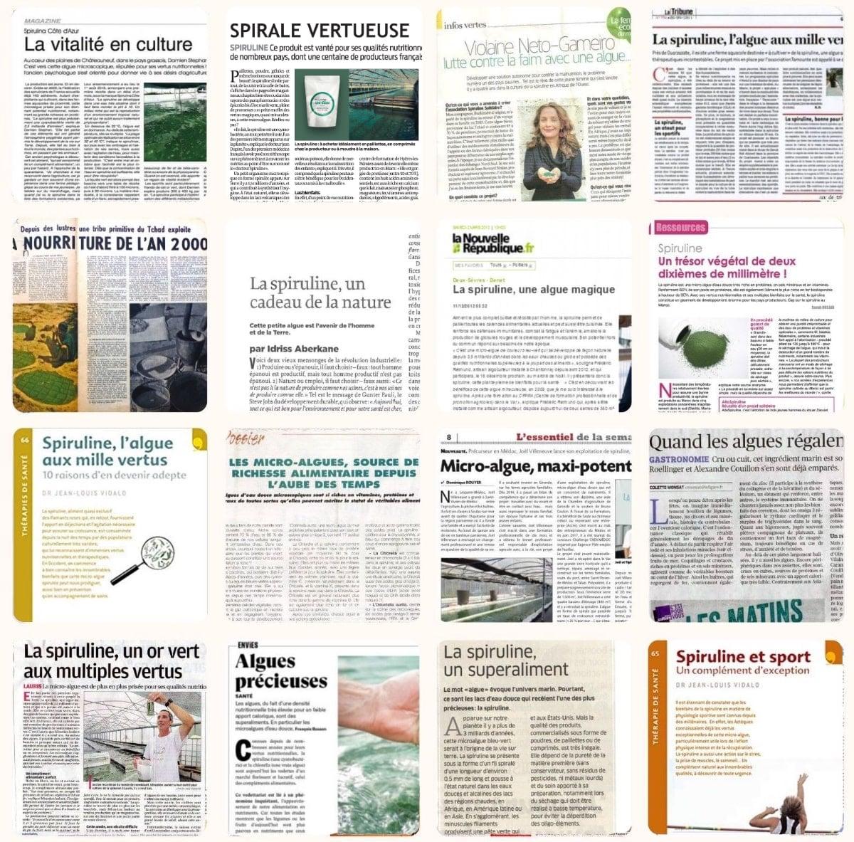 compilation d'articles de presse 2